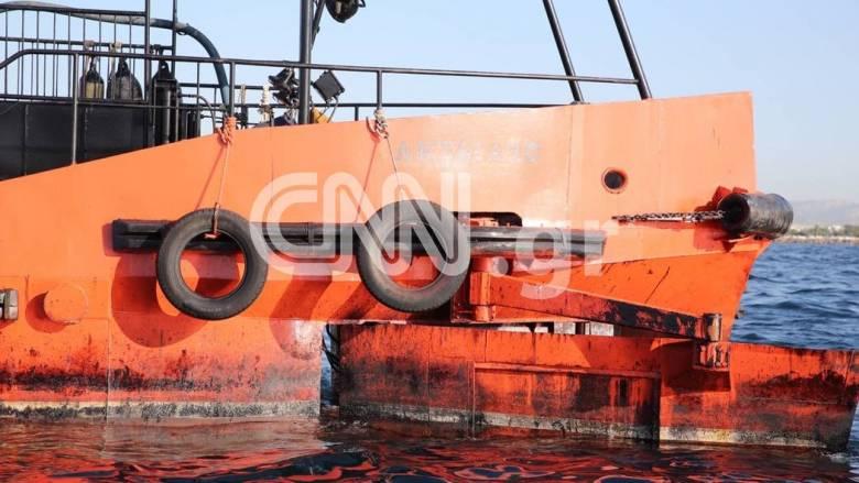 Δύο δεξαμενόπλοια προσέγγισαν το σημείο του βυθισμένου πλοίου «ΑΓ.ΖΩΝΗ ΙΙ»