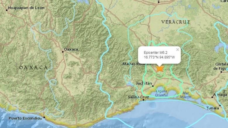 Ισχυρός σεισμός έπληξε ξανά το Μεξικό
