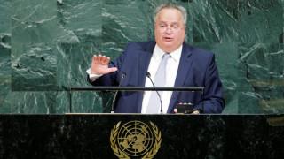 Ο Κοτζιάς από το βήμα του ΟΗΕ: Η Ελλάδα είναι πυλώνας σταθερότητας