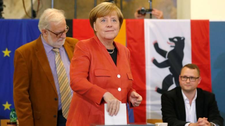 Εκλογές Γερμανία 2017: Ψήφισε η Άνγκελα Μέρκελ (pics)