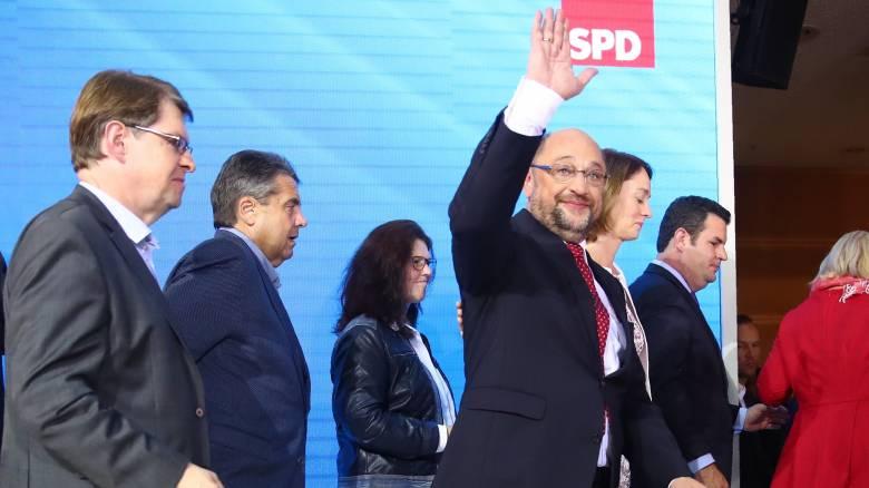 Σουλτς: Το SPD θα μείνει στην αντιπολίτευση