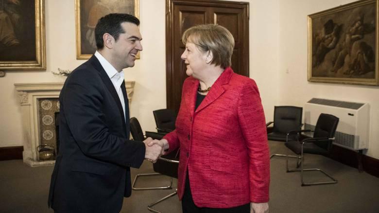 Συγχαρητήρια Αλέξη Τσίπρα στην Άνγκελα Μέρκελ για τη νίκη στις εκλογές