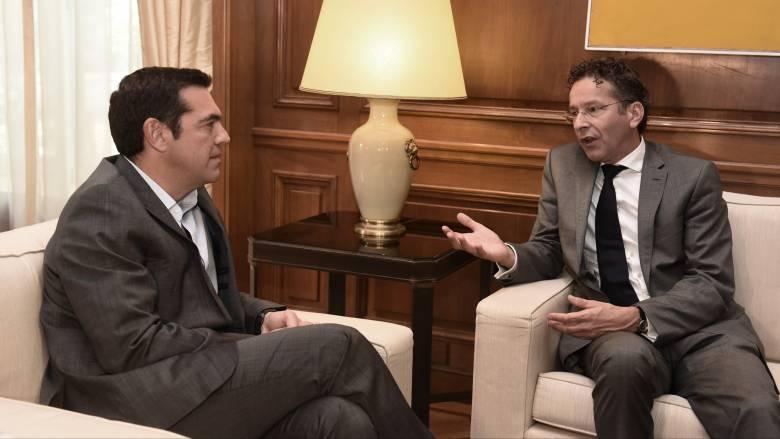 Το κλείσιμο της γ' αξιολόγησης στο επίκεντρο συνάντησης Τσίπρα - Ντάισελμπλουμ (pics)