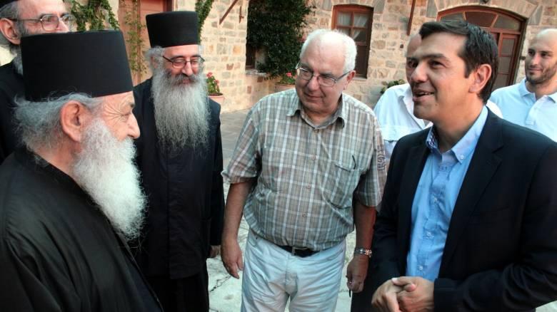 Δεν θα επισκεφθεί το Άγιον Όρος ο Αλέξης Τσίπρας