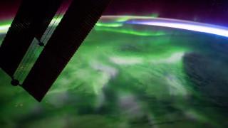 Εντυπωσιακό βόρειο Σέλας από τον ISS
