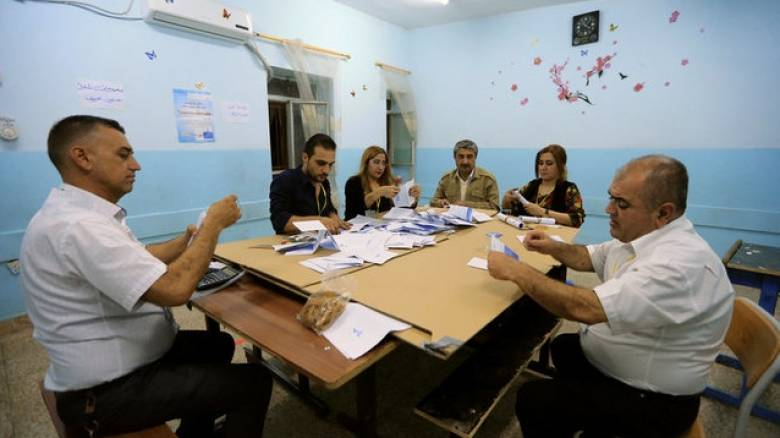 Δημοψήφισμα των Κούρδων του Ιράκ: Ξεκίνησε η καταμέτρηση των ψήφων