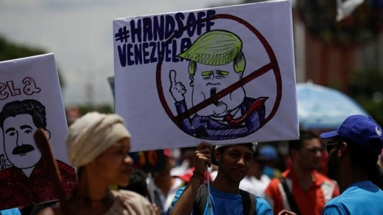 Για «ψυχολογική και πολιτική τρομοκρατία» κατηγορεί την Ουάσιγκτον το Καράκας