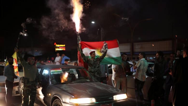 Ιρακινό Κουρδιστάν: «Ναι» στην ανεξαρτησία είπε το 93% των ψηφοφόρων