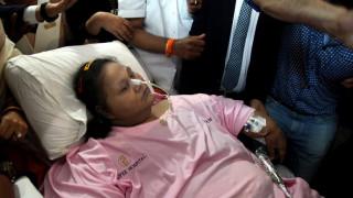 Πέθανε η βαρύτερη γυναίκα στον κόσμο (pics+vid)