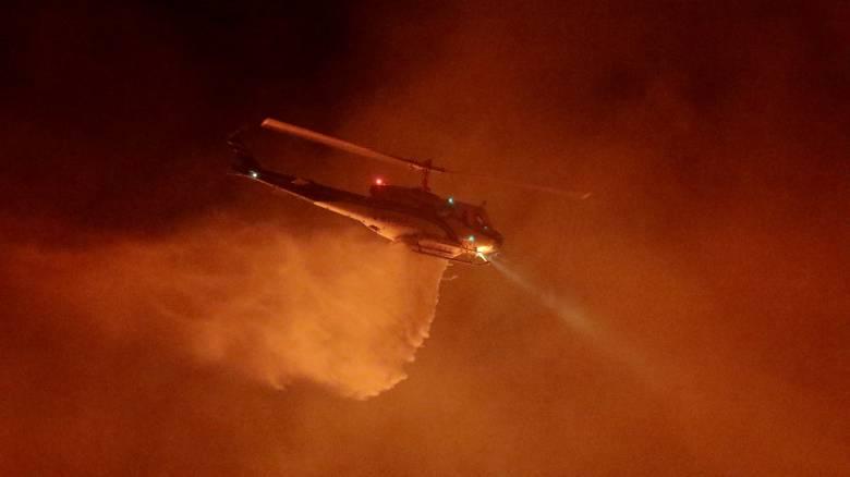 Πυρκαγιά στη δυτική Καλιφόρνια, σε ισχύ μέτρα υποχρεωτικής εκκένωσης της περιοχής