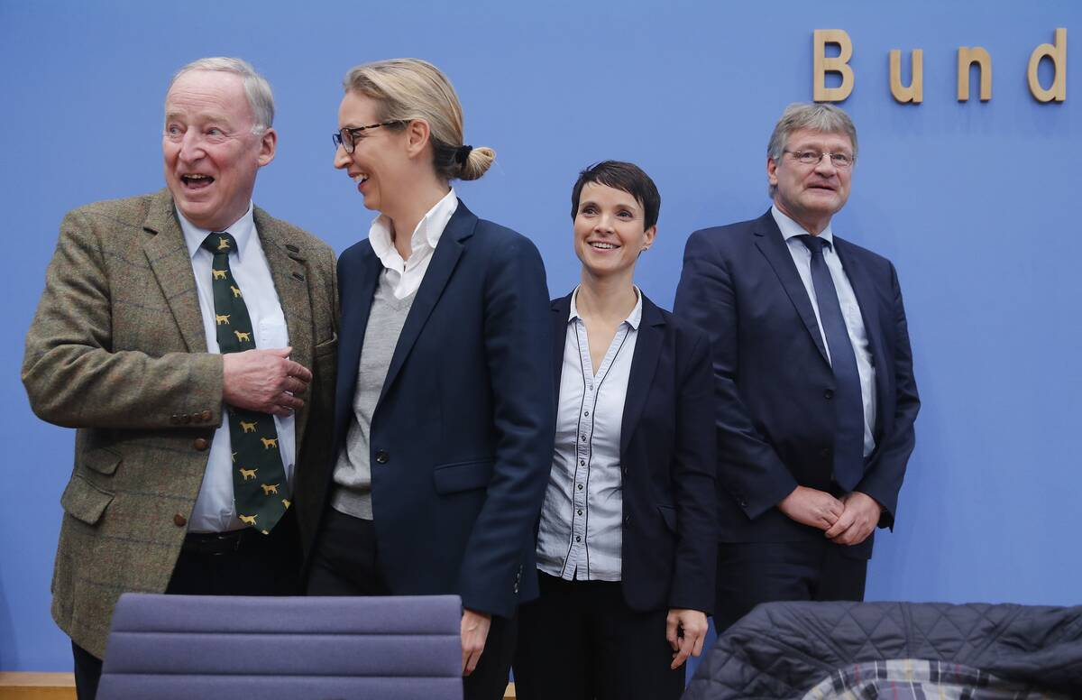 2017 09 25T085942Z 1128530692 UP1ED9P0OZHXP RTRMADP 3 GERMANY ELECTION REACTION AFD