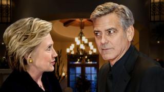 Ο Τζορτζ Kλούνεϊ απασφαλίζει για τη Xίλαρι Κλίντον: «Απλά δεν το έχει!»