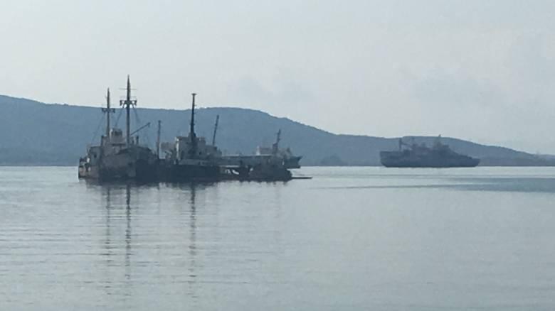 «Αμελητέα» η ρύπανση που προκάλεσε το πλοίο «Ελέφαντας» στον Ασπρόπυργο (pics&vid)