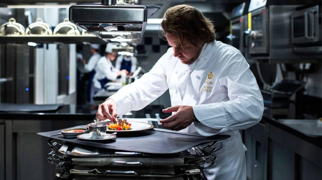 Nικολά Σαλ: Στον chef του ιστορικού Ritz το βραβείο «Σεφ της χρονιάς»