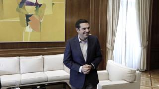 Το αστείο του Τσίπρα για την αποχώρηση του Σόιμπλε από το υπουργείο Οικονομικών