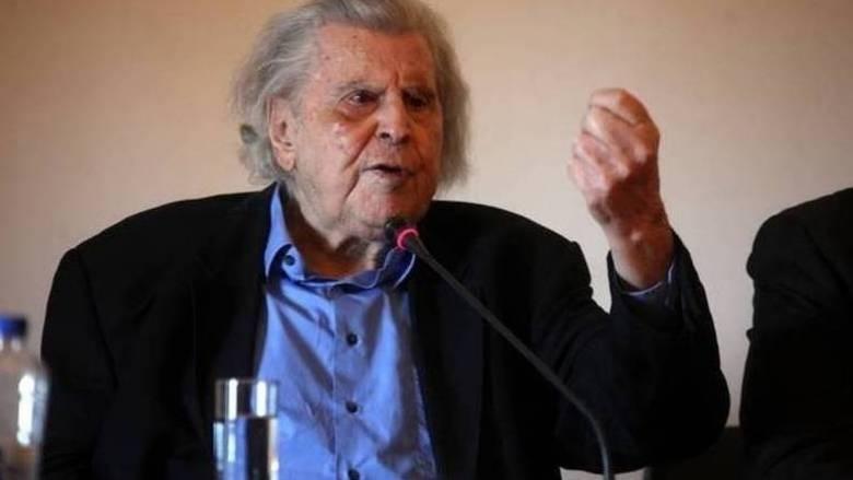 Μίκης Θεοδωράκης: Η κυβέρνηση ΣΥΡΙΖΑΝΕΛ θα μείνει στην ιστορία ως η δεξιότερη από το 1831