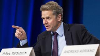 Τόμσεν: Σταθερή χρηματοοικονομικά η Ελλάδα – Θετική η πρόταση της ΕΚΤ