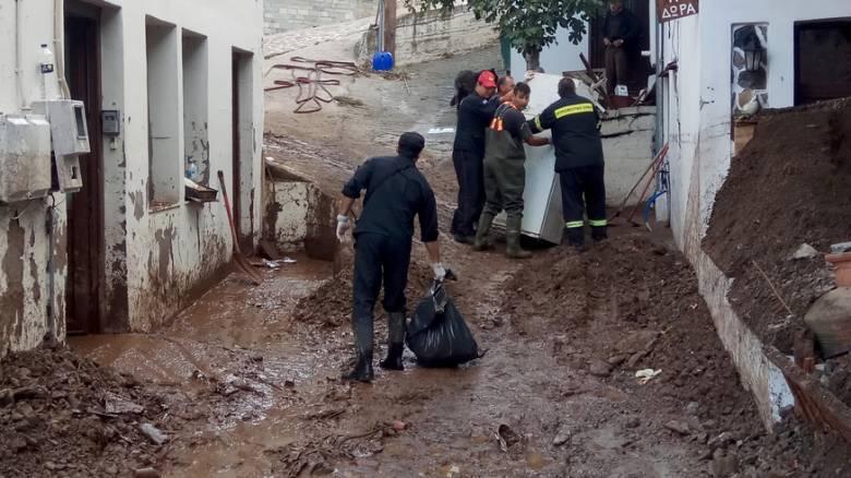 Δήμαρχος Σαμοθράκης: Το νησί έχει διαλυθεί εντελώς (pics&vid)
