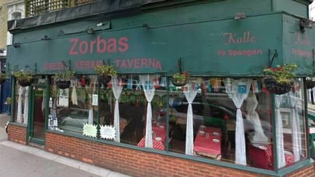Το ελληνικό εστιατόριο «Zorba's» είναι το πιο βρώμικο του Λονδίνου