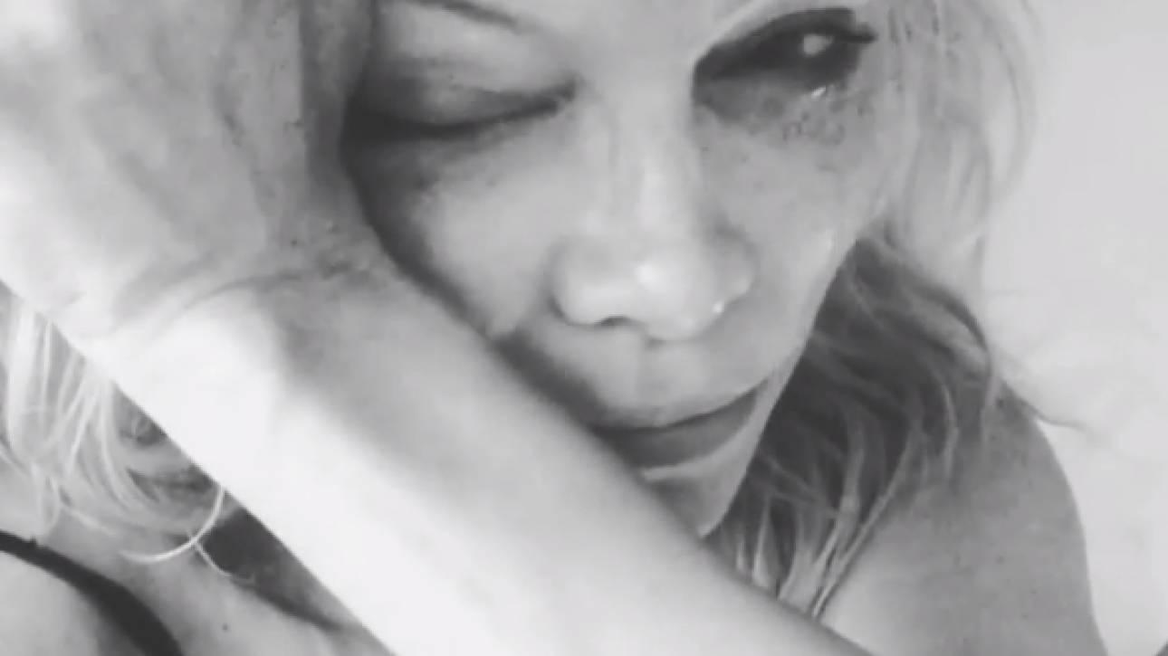 «Mε έκανες αυτό που είμαι»: Η Άντερσον κλαίει για τον Mr. Playboy στο Instagram