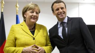 Η Μέρκελ συμφωνεί με το «όραμα» του Μακρόν για την Ευρώπη