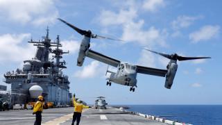 Ανώμαλη προσγείωση αμερικανικού στρατιωτικού αεροσκάφους στη Συρία, τουλάχιστον ένας τραυματίας