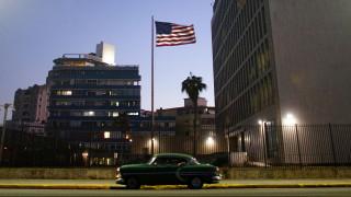 Η Ουάσιγκτον απομακρύνει το 60% των διπλωματών της από την Αβάνα