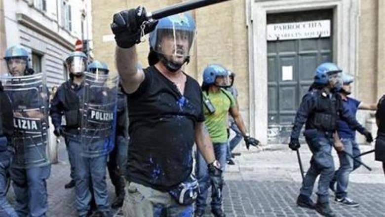 Ιταλία: Συγκρούσεις διαδηλωτών – αστυνομίας στο περιθώριο της G7