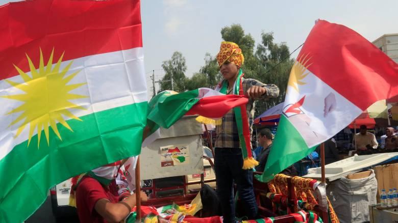 Συνάντηση Μακρόν - Αλ Αμπάντι στη Γαλλία για τις εξελίξεις στο Ιράκ μετά το δημοψήφισμα