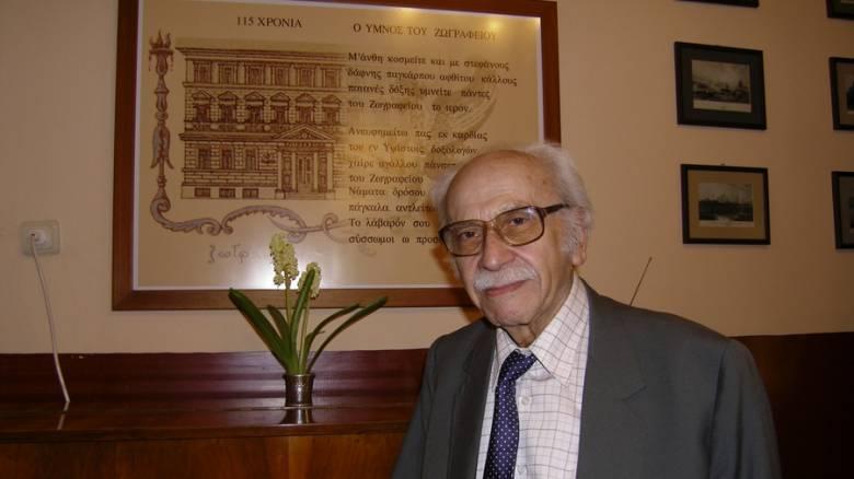 Θρηνεί ο ελληνισμός για την απώλεια του Δημήτρη Φραγκόπουλου