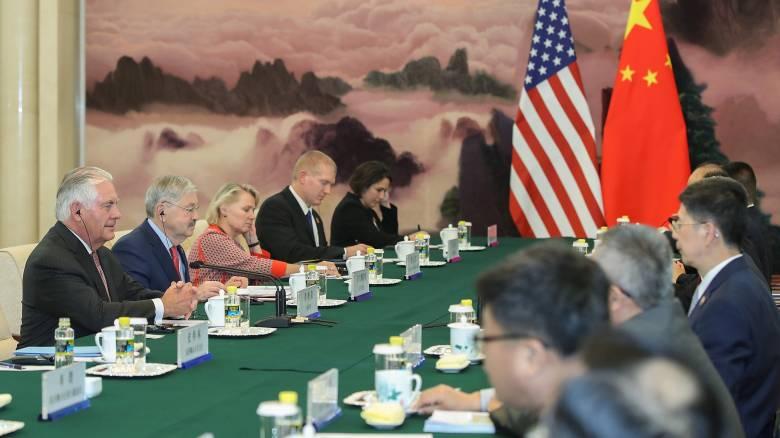 Τίλερσον: Διερευνούμε τις δυνατότητες διαλόγου με την Πιονγιάνγκ (pics)