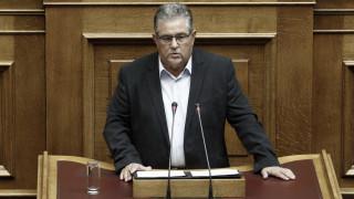 Για στρατηγική σύμπλευση ΣΥΡΙΖΑ - ΝΔ μιλά ο Δημήτρης Κουτσούμπας