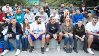 Σε τουρνουά μπάσκετ 3x3 ο Κυριάκος Μητσοτάκης (pics)
