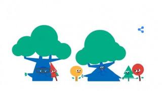 Google Doodle: Τιμά την Ημέρα του Παππού και της Γιαγιάς