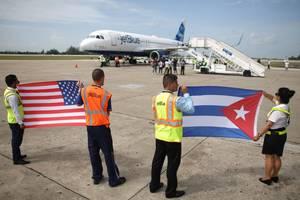 31 Αυγούστου 2016: Η πρώτη προγραμματισμένη εμπορική πτήση από τις Ηνωμένες Πολιτείες προς την Κούβα, μετά από περισσότερο από μισό αιώνα, προσγειώνεται στο νησί. Η πτήση αναχώρησε από την Φλόριντα και είχε προορισμό την Σάντα Κλάρα. Ήταν μία δύσκολη αρχή
