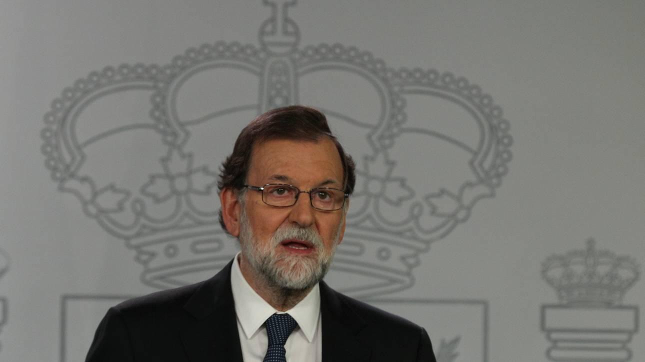 Ραχόι: Δεν έγινε δημοψήφισμα για την ανεξαρτησία της Καταλονίας