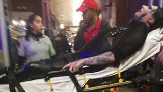 Μέριλιν Μάνσον: Στο νοσοκομείο μετά από ατύχημα σε συναυλία (vid)