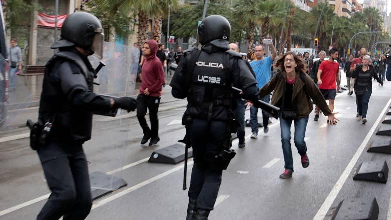 ΟΗΕ: Έρευνα για τα περιστατικά βίας στο δημοψήφισμα της Καταλονίας