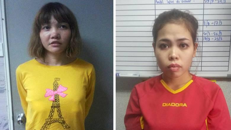 Vietnamese Doan Thi Huong L and Indonesian Siti Aishah