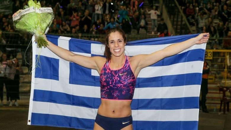 IAAF: Υποψήφια αθλήτρια της χρονιάς η Κατερίνα Στεφανίδη (vid)