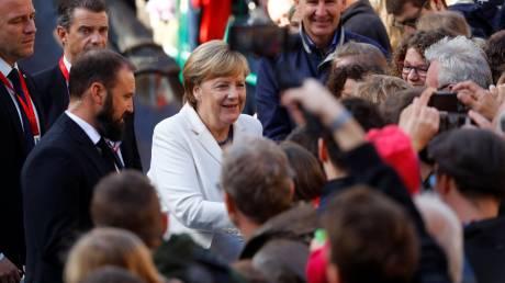 Η Γερμανία γιορτάζει την επανένωσή της
