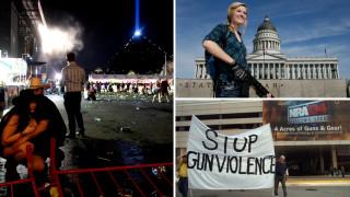 Οπλοκατοχή, ένα θέμα που διχάζει τις ΗΠΑ, ξανά στο επίκεντρο με φόντο το Λας Βέγκας