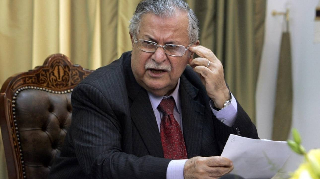 Πέθανε ο πρώην πρόεδρος του Ιράκ, Τζαλάλ Ταλαμπανί