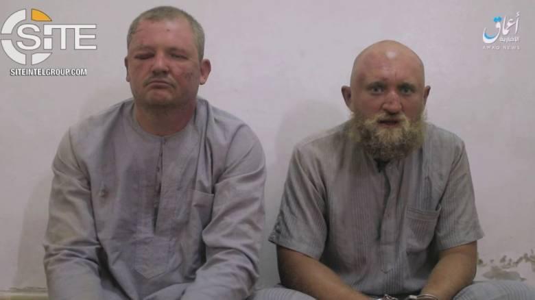 Το ISIS ισχυρίζεται ότι κρατά αιχμαλώτους Ρώσους στρατιωτικούς - Η Μόσχα διαψεύδει (vid)