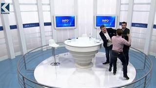 Άγριο ξύλο σε πολιτική εκπομπή στη Σερβία (vid)