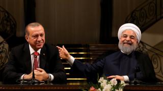 Συνάντηση Ερντογάν - Ροχανί στην Τεχεράνη: Τι συζήτησαν για το Ιρακινό Κουρδιστάν (pics)