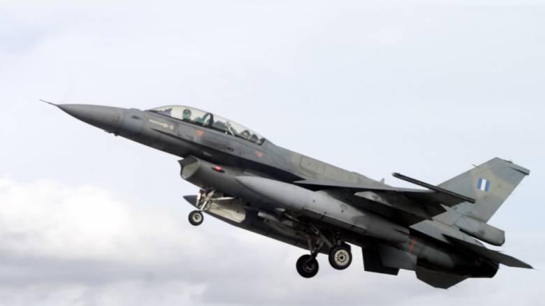 Αναγκαστική προσγείωση F-16 στην Κάρπαθο λόγω βλάβης