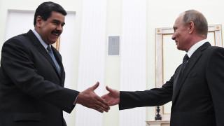 Το «ευχαριστώ» του Μαδούρο στον Πούτιν για την υποστήριξη του στις δύσκολες στιγμές (pics)