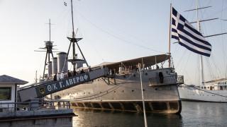 Το θωρηκτό «Αβέρωφ» για πρώτη φορά στη Θεσσαλονίκη μετά το τέλος του Β' Παγκοσμίου Πολέμου