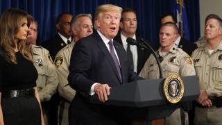 Τραμπ από το Λας Βέγκας: Η καρδιά της Αμερικής γέμισε με θλίψη